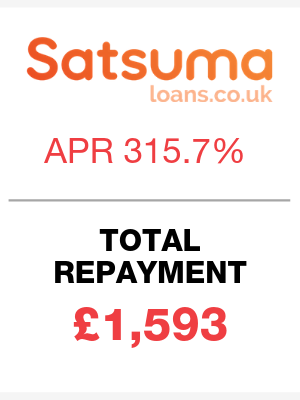 London Community Credit Union loans are cheaper than Satsuma loans