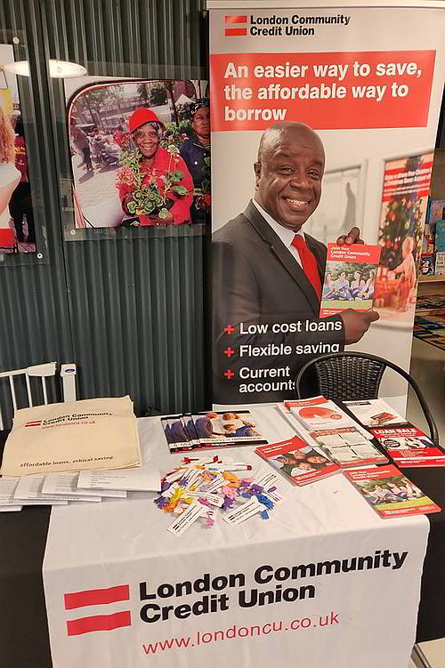 Stall at Pembury Community Centre, Hackney